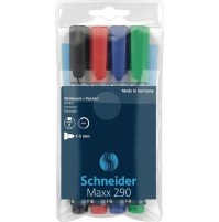 Whiteboardpennor 4-pack