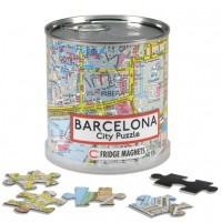 Barcelona City Magnetic Puzzle