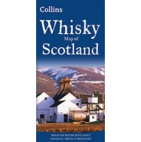 Whisky Map of Scotland Collins