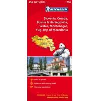 Slovenien Kroatien Bosnien m.fl. Michelin