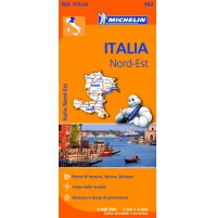 562 Nordöstra Italien Michelin
