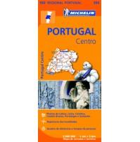 592 Mellersta Portugal Michelin
