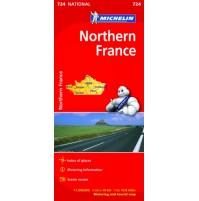 Norra Frankrike Michelin