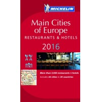 Main Cities of Europe 2016 Michelin