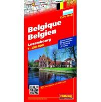Belgien Luxemburg Hallwag