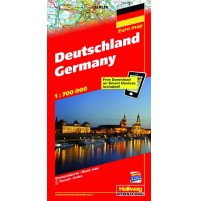 Tyskland Distoguide Hallwag