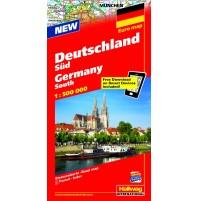 Södra Tyskland Hallwag