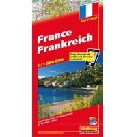 Frankrike Distoguide Hallwag