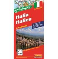 Italien Distoguide Hallwag