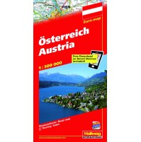 Österrike Hallwag