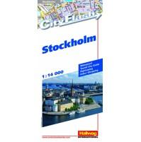 Stockholm City Flash Hallwag