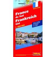 Södra Frankrike Hallwag