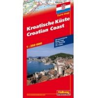 Kroatiska Kusten Hallwag