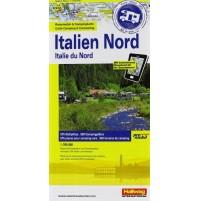 Norra Italien Campingkarta