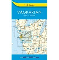 113 Borås Vägkartan