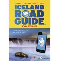 Island Atlas och vägguide (Iceland Road Guide)