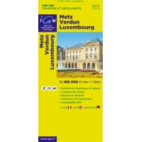 111 IGN Metz Verdun Luxemburg