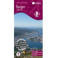 Bergen - 7 fjellsturen Turkart