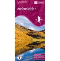 Aurlandsdalen Österbö Turkart