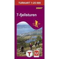 7-fjellsturen Turkart