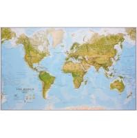 Världen MapsInt. 1:30milj (FYS) 136x84cm