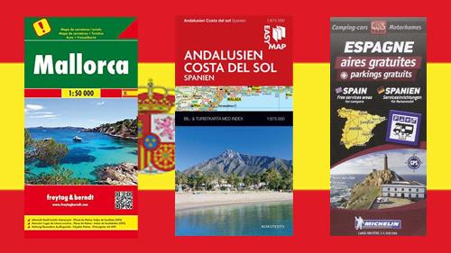Karta Italien Spanien.Kop Kartor Atlaser Med Snabb Leverans Kartbutiken Se