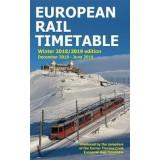 European Rail Timetable Winter 2018/19