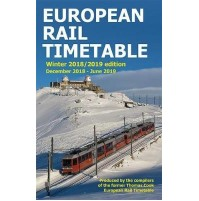 European Rail Timetable Winter 2018/19