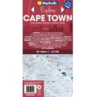 Kapstaden med omgivningar Map Studio