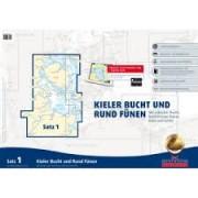 Kieler Bucht und Rund Fünen Båtsportkort satz 1