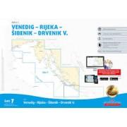 Adriatic Sea 1 Båtsportkort Satz 7