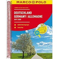 Tyskland Atlas Marco Polo