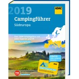 Campingführer, Södra Europa ADAC 2019