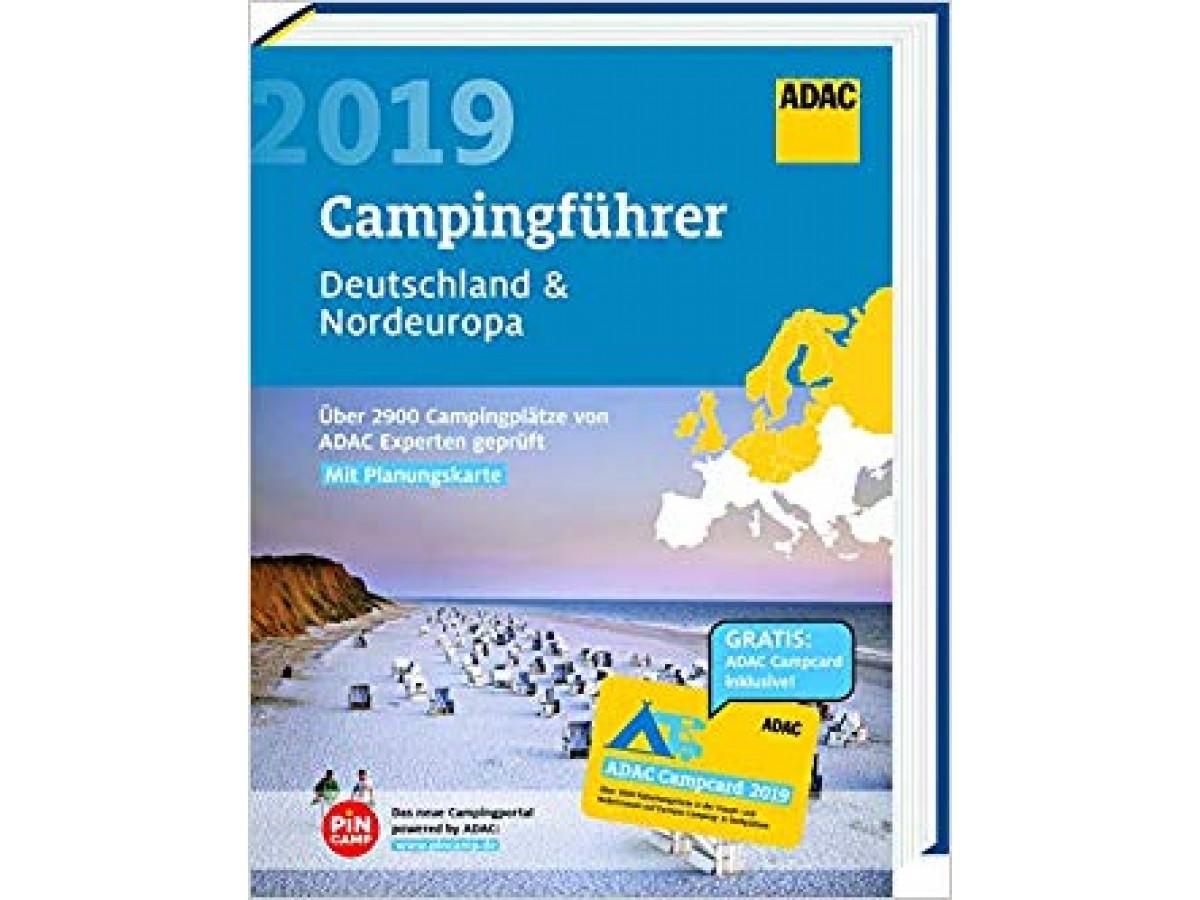 Campingführer Norra Europa ADAC 2019