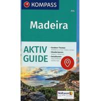 234 Madeira Kompass Wanderkarte