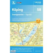 58 Köping Sverigeserien 1:50 000