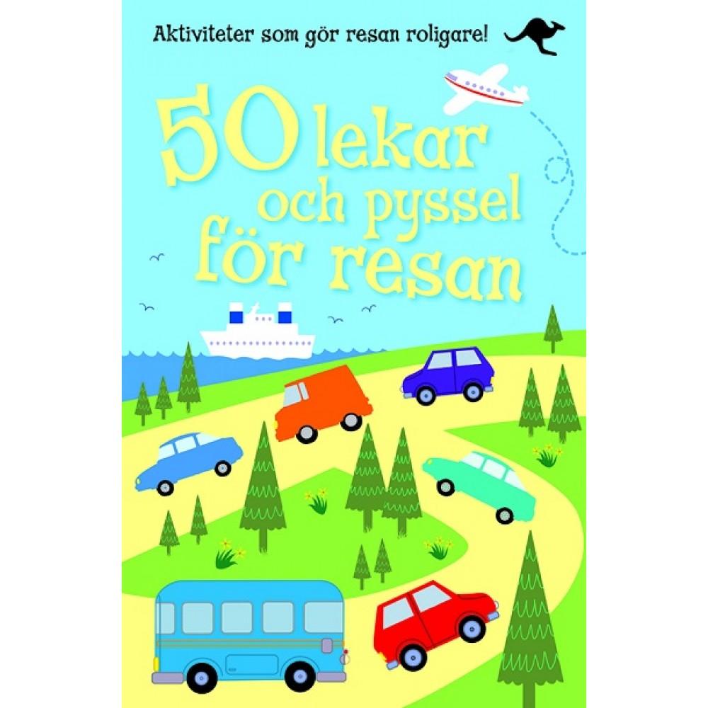 50 lekar och pyssel för resan