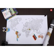 Colouring World Map
