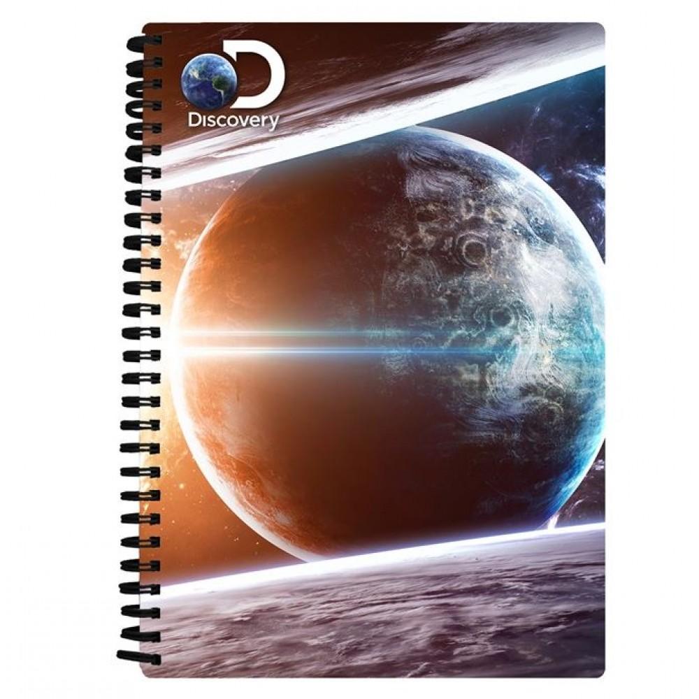 Notebook 3D Earth & Sun A5 - Anteckningsbok