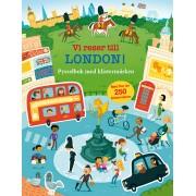 Vi reser till London - pysselbok med klistermärken