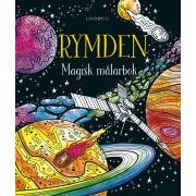 Rymden Magisk målarbok
