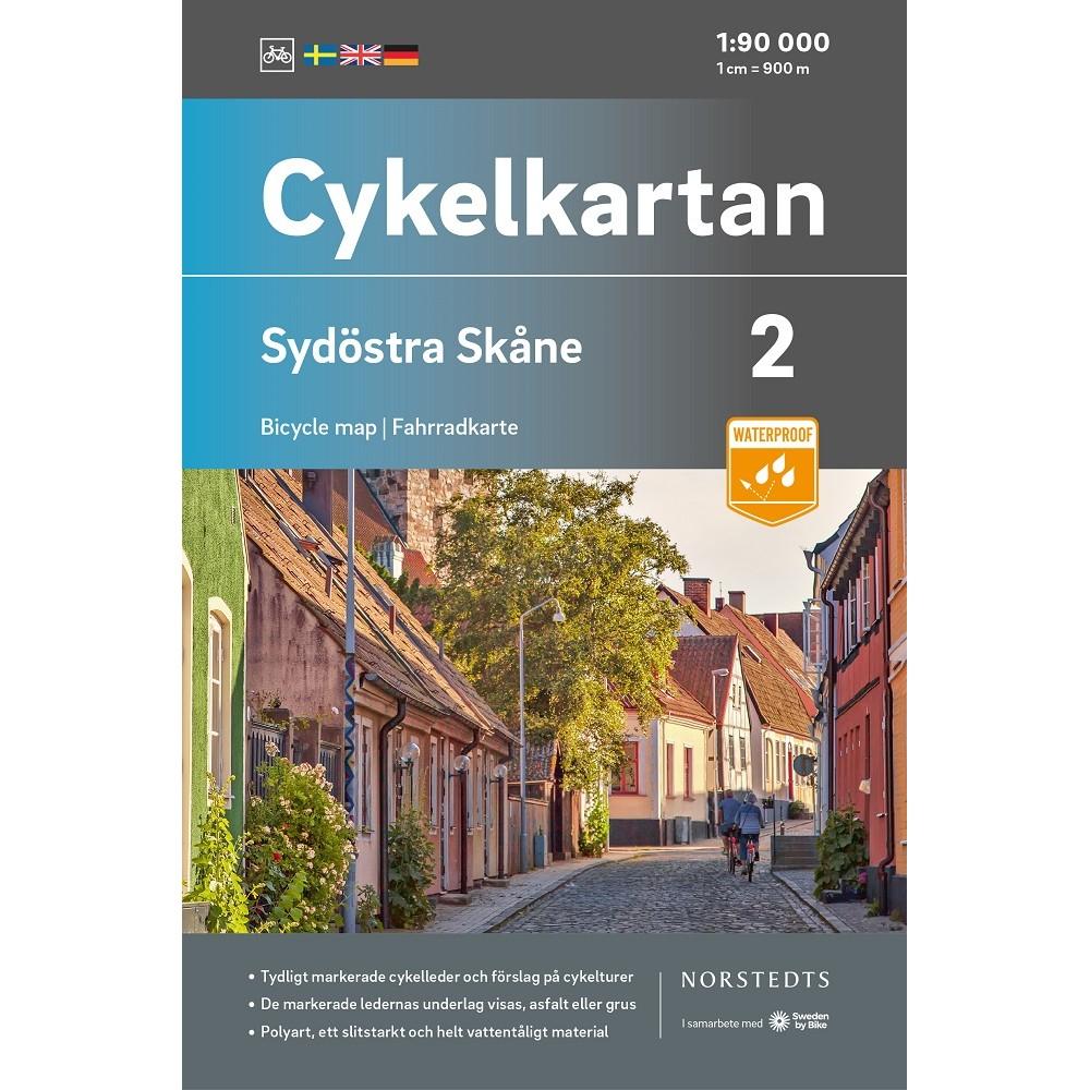Cykelkartan 2 Sydöstra Skåne