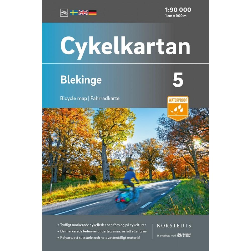 Cykelkartan 5 Blekinge