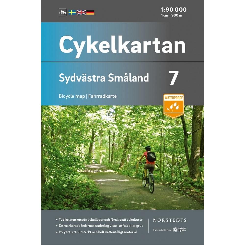 Cykelkartan 7 Sydvästra Småland