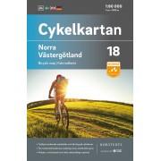 Cykelkartan 18 Norra Västergötland