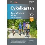 Cykelkartan 25 Östra Värmland/Närke