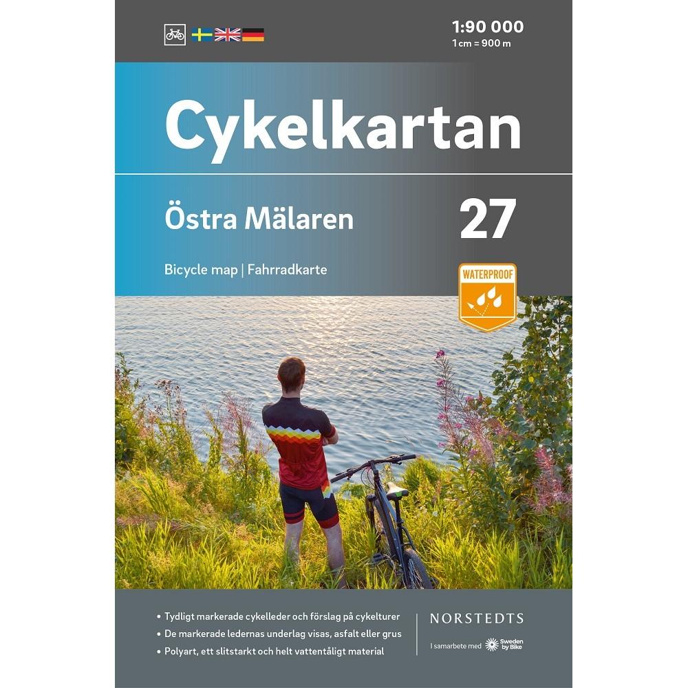 Cykelkartan 27 Östra Mälaren