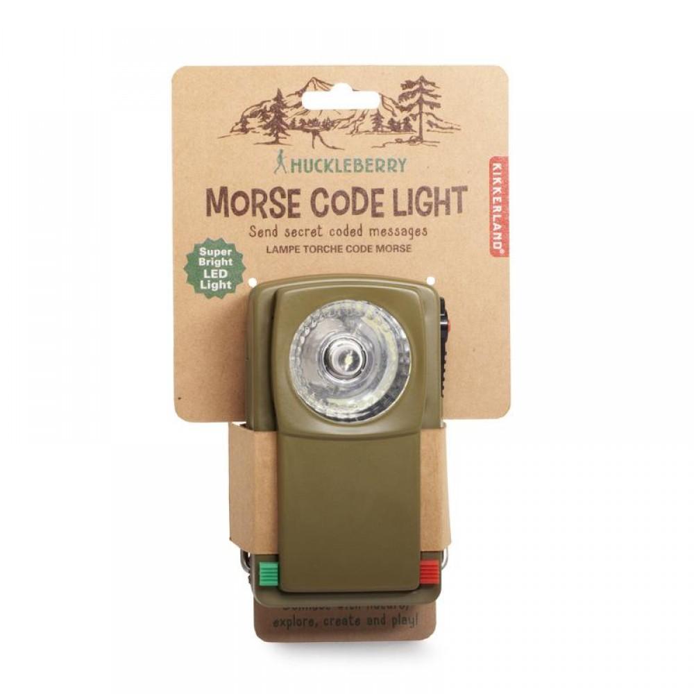 Huckleberry Morse Code Light
