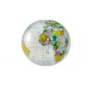 Uppblåsbar Jordglob Transparant POL 40 cm