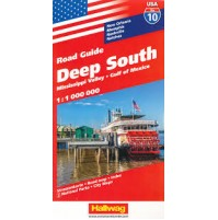 10 USA Hallwag Deep South